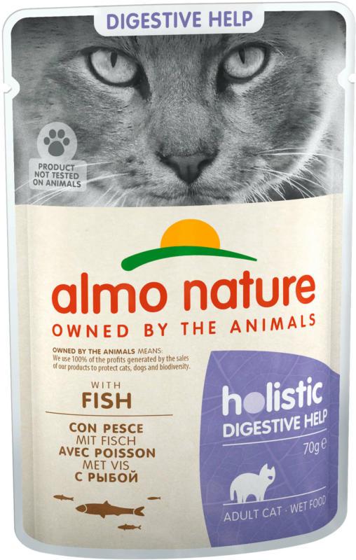 Almo Nature Nassfutter FC Digestive Fisch 30x70g