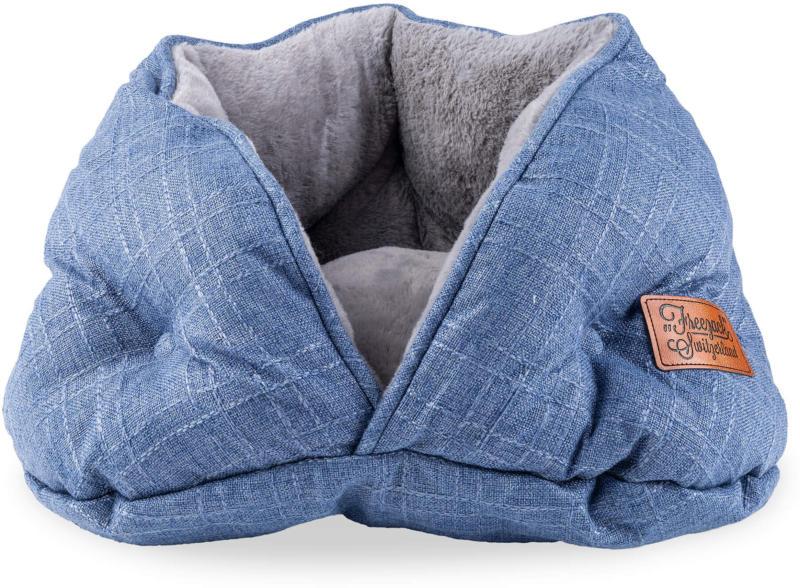 Freezack Katzenbett Donut Lena blau