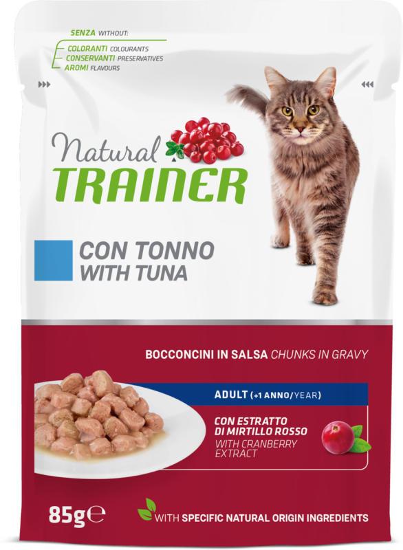 Trainer Natural Nassfutter Adult Thunfisch in Sauce 12x85g