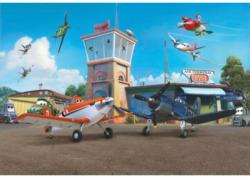 Fototapete Planes Terminal ca. 368 x 254 cm