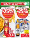 EUROSPAR EUROSPAR Flugblatt Salzburg & Tirol - bis 25.08.2021
