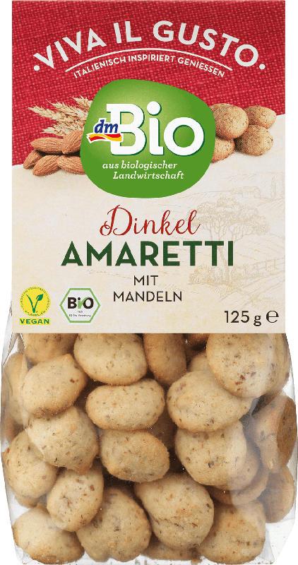 dmBio Amaretti mit Mandeln vegan