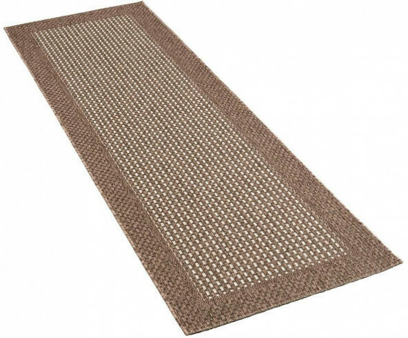 Teppich Grace ca. 80 x 240 cm grau