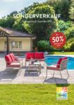 Hunn Gartenmöbel Sonderverkauf - bis 18.09.2021