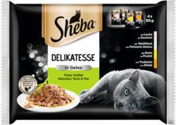 Sheba Delikatesse en geleé Sélection Terre & Mer 4x85g