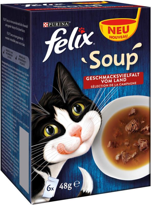 Felix Soup Geschmacksvielfalt vom Land 8x6x48g
