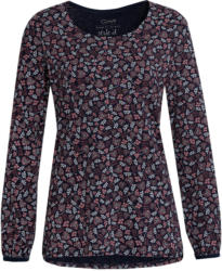 Damen Langarmshirt mit Blumen-Print