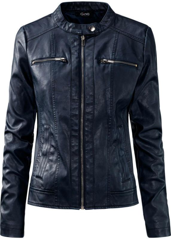 Damen Jacke aus Lederimitat (Nur online)