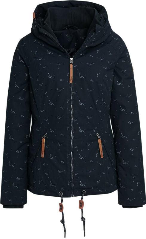 Damen Jacke mit dezentem Allover-Print (Nur online)