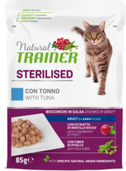 Trainer Natural Sterilised Adult Thunfisch in Sauce 85g Beutel
