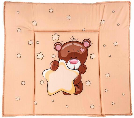 """Baby-Wickelauflage """"Teddy"""" 75 x 85 x 3 cm"""
