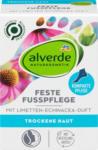 dm-drogerie markt alverde NATURKOSMETIK Feste Fußpflege mit Limetten-Echinacea-Duft - bis 31.10.2021