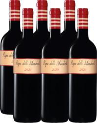 Ripa delle Mandorle Rosso Toscana IGT, 2020, Toscane, Italie, 6 x 75 cl