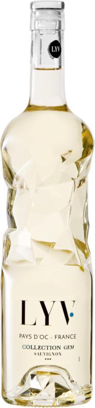 LYV Collection Gem Sauvignon Blanc Pays d'Oc IGP , Languedoc-Roussillon, Frankreich, 75 cl