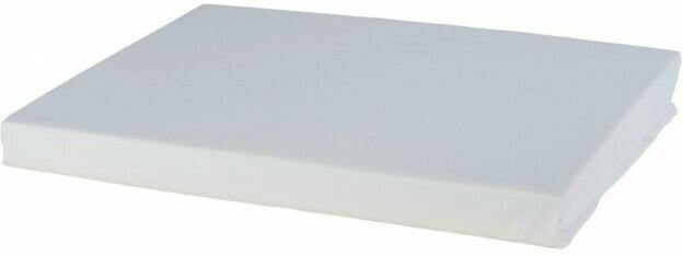 Microfaser-Spannbetttuch 150 x 200 cm weiß