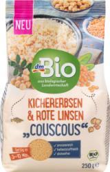 dmBio Couscous, Kichererbsen & Rote Linsen