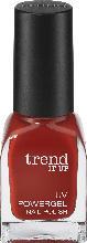 trend IT UP Nagelllack UV Powergel Nail Polish dunkel-rot 185