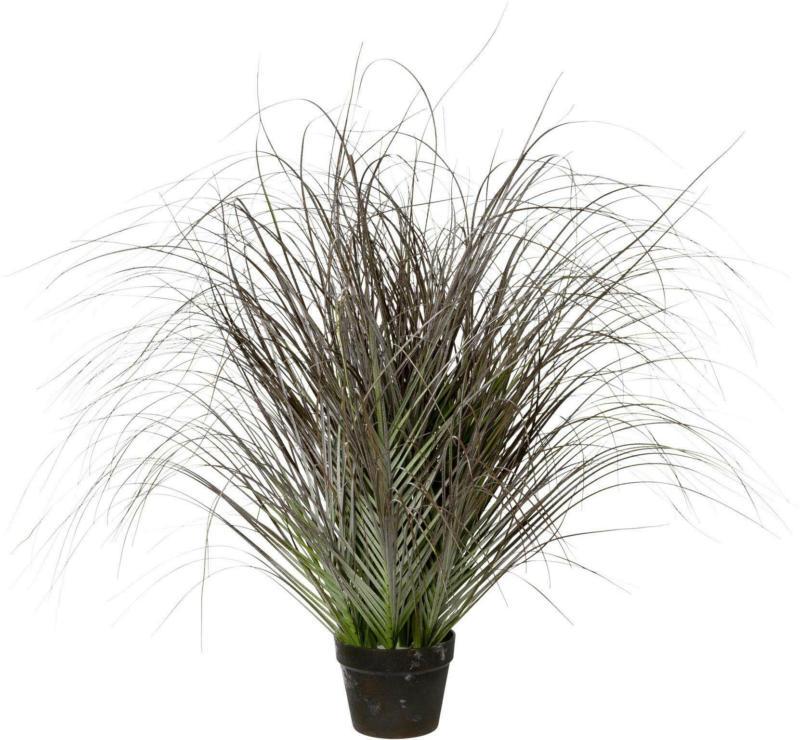 Kunstpflanze Gras geeist ca. 95cm