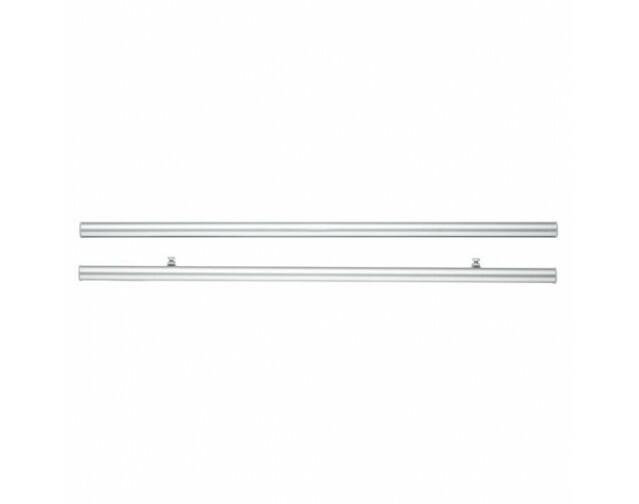 Paneelwagen Clip für Schiebevorhänge, Alu, ca. 60 cm,