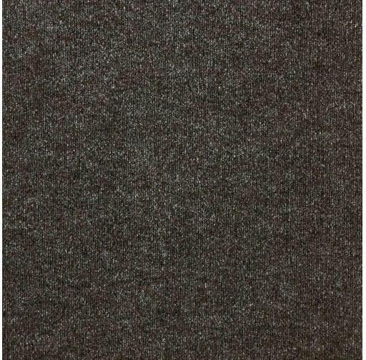 """Teppichfliese """"Rex"""", Schwarz, ca. 50 x 50 cm"""