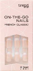 trend IT UP Künstliche Fingernägel On-The-Go Nails French Classic