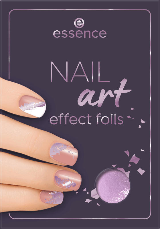 essence cosmetics Nagelfolie NAIL art effect 02
