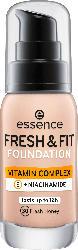 essence cosmetics Make-up FRESH & FIT FOUNDATION 30