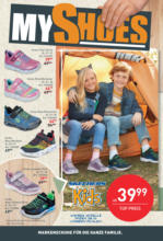 MyShoes Flugblatt
