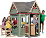 Möbelix Spielhaus Holz mit Sitzbank Hellgrün Byd Victorian Inn