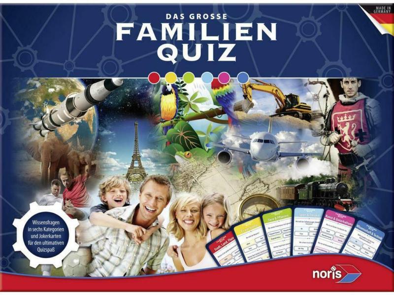 Strategiespiel Das Große Familienquiz