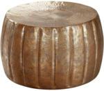Möbelix Couchtisch Rund Orient-Style Jamal, Kupferfarben