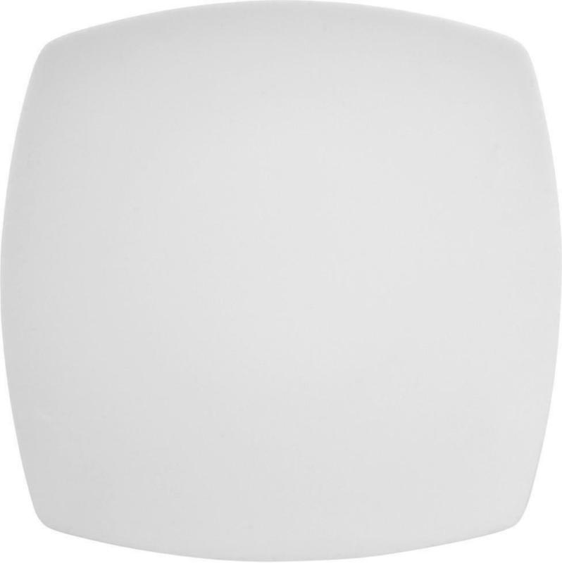 Speiseteller Porzellan Weiß Eckig Maya ca. 26 cm