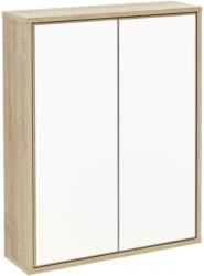 Spiegelschrank Push-To-Open Finn B: 60cm, Eiche Dekor