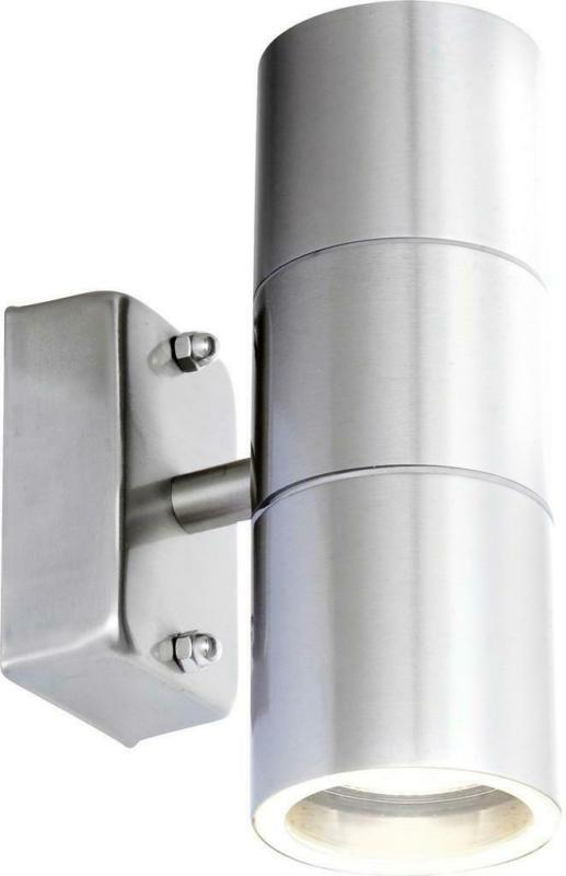 LED-Außenleuchte Style 5 Watt Edelstahl, Wandmontage