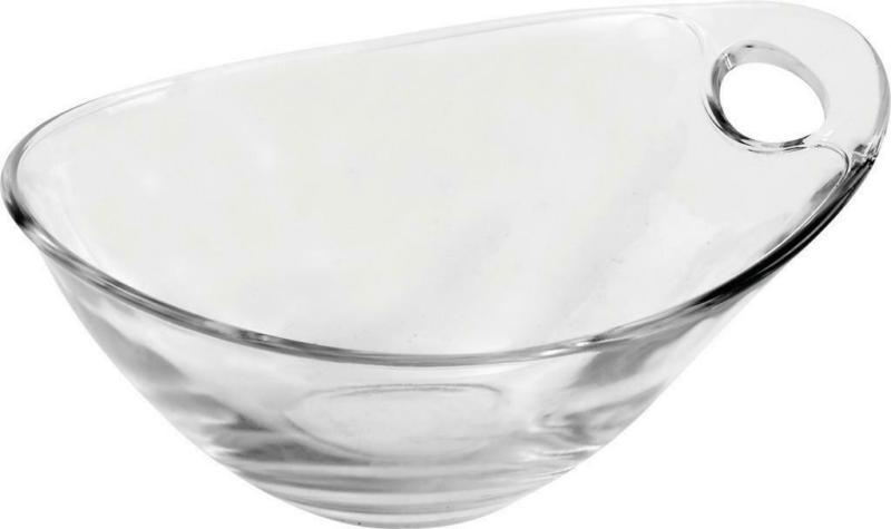 Dessertschale aus Glas Klar/Konisch Gadi, D: 14 cm