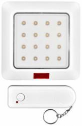 LED-Wandleuchte mit Fernbedienung