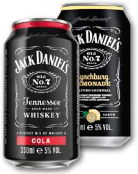 JACK DANIELS & COLA, LYNCHBURG LEMONADE 5% 330ML