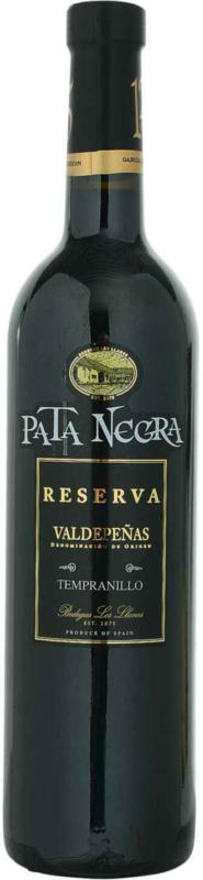 Pata Negra Reserva D.O. Valdepeñas 75 cl - 6 pezzi