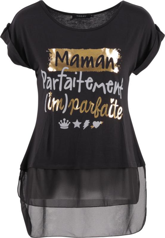 Lisi Shirt, Black Print