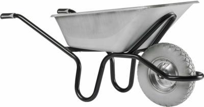 Haemmerlin Einrad-Schubkarre 120 l Muldenvolumen 250 kg Traglast Verzinkt