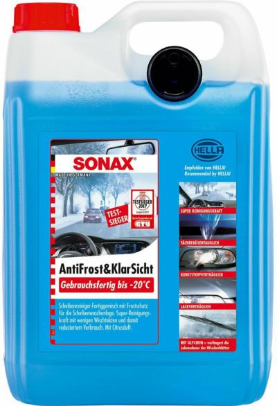 Sonax AntiFrost & KlarSicht bis -20 °C 5 l