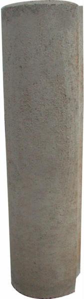 Verbundpalisade Grau Ø 11 cm