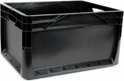 Eurobox-System Box Vollwand 40 x 30 x 22 cm Schwarz