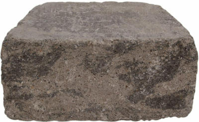 Mauerstein Tapez Anthrazit-schattiert gespalten 30x20x14 cm
