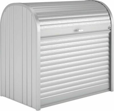 Biohort StoreMax 120 Gartenbox Silber-Metallic