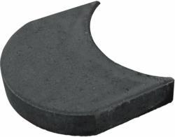 Mähroboterkantenstein Anthrazit 15 cm x 24 cm x 4 cm