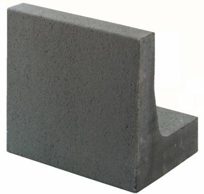 L-Stein unbewehrt Grau 40 cm x 40 cm x 30 cm