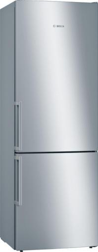 Bosch Serie | 6 Freistehende Kühl-Gefrier-Kombination mit Gefrierbereich unten 201 x 70 cm Edelstahl