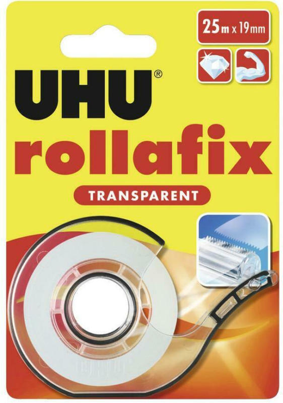 Klebstoff Rollafix Transparent