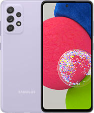 """SAMSUNG Galaxy A52s 5G - Smartphone (6.5 """", 128 GB, Awesome Violet)"""